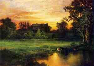 Reproduction oil paintings - Thomas Moran - Easthampton