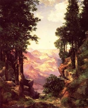 Reproduction oil paintings - Thomas Moran - Grand Canyon2