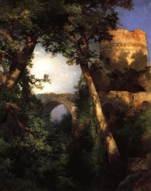 Reproduction oil paintings - Thomas Moran - Two Owls
