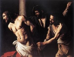 Reproduction oil paintings - Caravaggio - Christ at the Column c. 1607