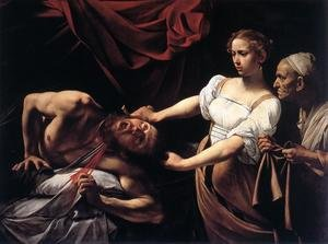 Reproduction oil paintings - Caravaggio - Judith Beheading Holofernes c. 1598