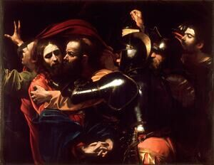 Reproduction oil paintings - Caravaggio - Taking of Christ c. 1598