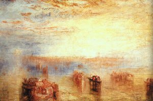 Reproduction oil paintings - Turner - Approach to Venice 1843