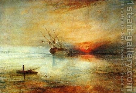 Fort Vimieux by Turner - Reproduction Oil Painting