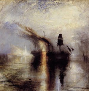 Reproduction oil paintings - Turner - Peace - Burial at Sea 1842