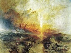 Reproduction oil paintings - Turner - Slavers Throwing Overboard The Dead And Dying   Typhoon Coming On