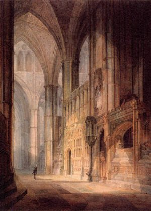 Reproduction oil paintings - Turner - St  Erasmus In Bishop Islips Chapel  Westminster Abbey