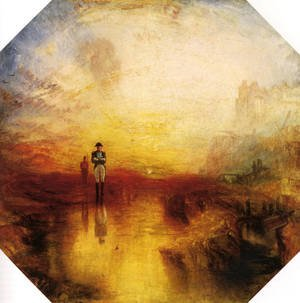 Reproduction oil paintings - Turner - The Exile And The Snail