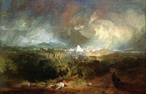 Reproduction oil paintings - Turner - The Fifth Plague of Egypt 1800