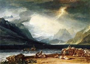 Reproduction oil paintings - Turner - The Lake Of Thun  Switzerland