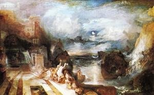 Reproduction oil paintings - Turner - The Parting Of Hero And Leander   From The Greek Of Musaeus