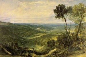 Reproduction oil paintings - Turner - The Vale Of Ashburnham