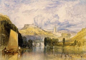 Reproduction oil paintings - Turner - Totnes  In The River Dart