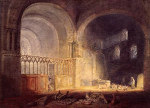 Reproduction oil paintings - Turner - Transept Of Ewenny Priory  Glamorganshire
