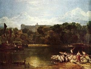 Reproduction oil paintings - Turner - Windsor Castle From The Thames
