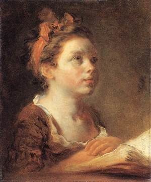 Reproduction oil paintings - Jean-Honore Fragonard - A Young Scholar 1775-78