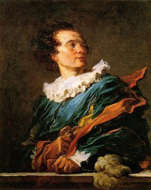 Reproduction oil paintings - Jean-Honore Fragonard - Abbé de Saint-Non (Fanciful Figure) 1769