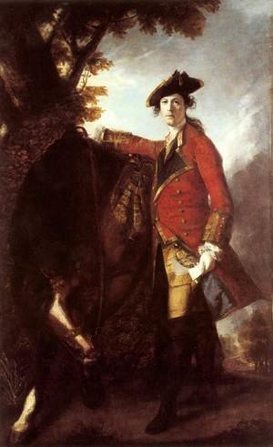 Reproduction oil paintings - Sir Joshua Reynolds - Captain Robert Orme 1756