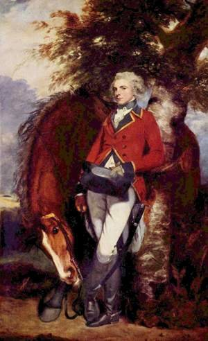 Reproduction oil paintings - Sir Joshua Reynolds - Colonel George K. H. Coussmaker, Grenadier Guards 1782