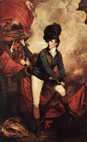 Reproduction oil paintings - Sir Joshua Reynolds - General Sir Banastre Tarleton 1782