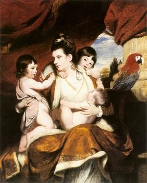 Lady Cockburn and her Three Eldest Sons 1773