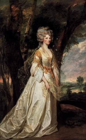 Reproduction oil paintings - Sir Joshua Reynolds - Lady Sunderlin 1786