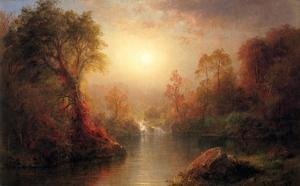 Hudson River School painting reproductions: Autumn