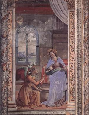Reproduction oil paintings - Domenico Ghirlandaio - Annunciation2