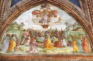 Reproduction oil paintings - Domenico Ghirlandaio - Death And Assumption Of The Virgin
