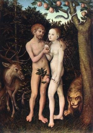 Adam and Eve 1533