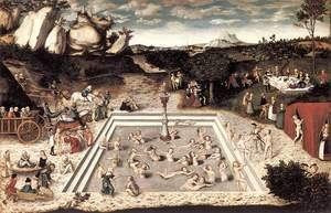 Famous paintings of Fountains: The Fountain of Youth 1546