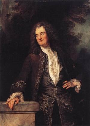 Famous paintings of Men: Portrait of a Gentleman 1715-20