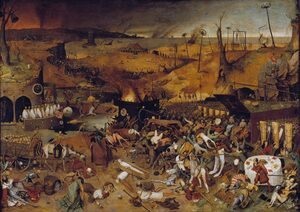 Renaissance - Northern painting reproductions: The Triumph of Death c. 1562