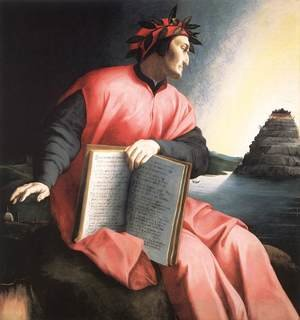 Mannerism painting reproductions: Allegorical Portrait of Dante c. 1530