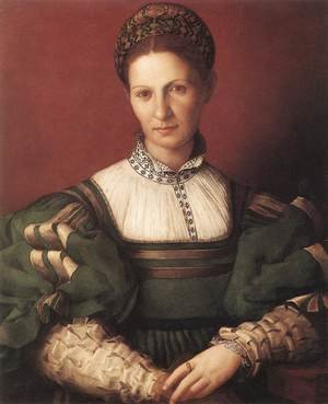Portrait of a Lady in Green, 1530-32