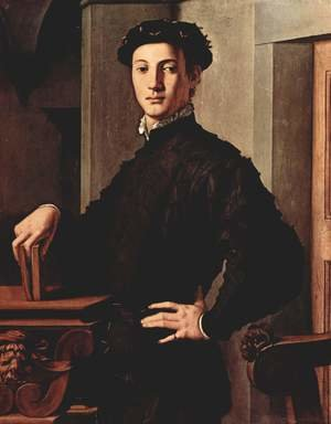 Mannerism painting reproductions: Portrait of a Young Man, c. 1540