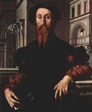 Mannerism painting reproductions: Portrait of Bartolomeo Panciatichi c. 1540