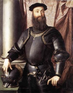 Portrait of Stefano IV Colonna 1546