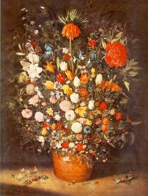 Mannerism painting reproductions: Bouquet 1603