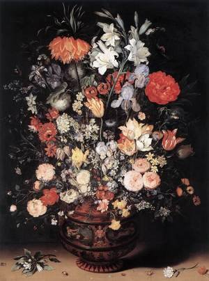 Mannerism painting reproductions: Flowers in a Vase