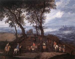 Mannerism painting reproductions: Travellers On The Way