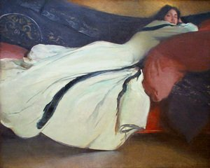 Symbolism painting reproductions: Repose