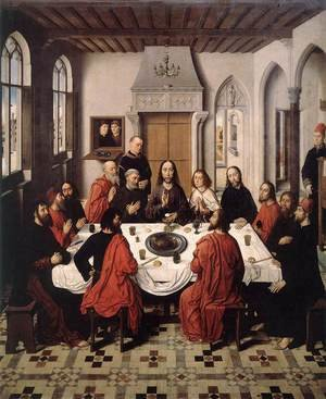 Famous paintings of The Last Supper: The Last Supper 1464-67