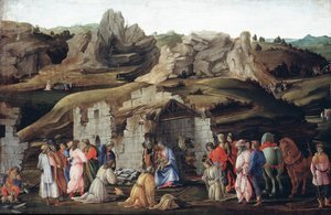 Renaissance - Early painting reproductions: The Adoration Of The Magi