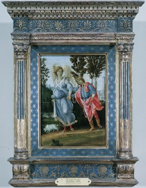 Renaissance - Early painting reproductions: Tobias And The Angel