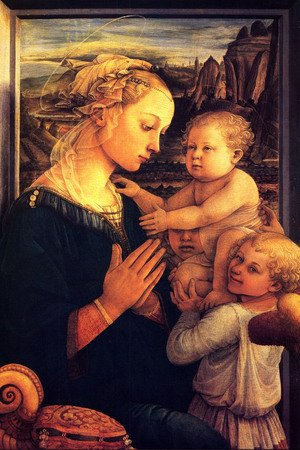 Renaissance - Early painting reproductions: Virgin With Chilrden