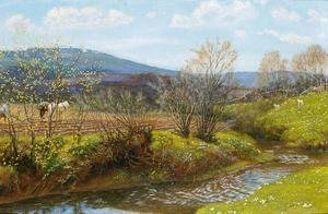 Reproduction oil paintings - Arthur Hughes - A Spring Afternoon