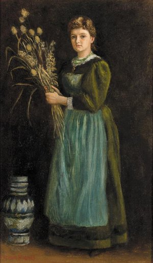 Reproduction oil paintings - Arthur Hughes - Lucy Hill