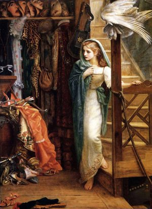 Pre-Raphaelites painting reproductions: The Property Room