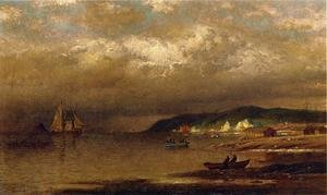 Reproduction oil paintings - William Bradford - Coast Of Newfoundland